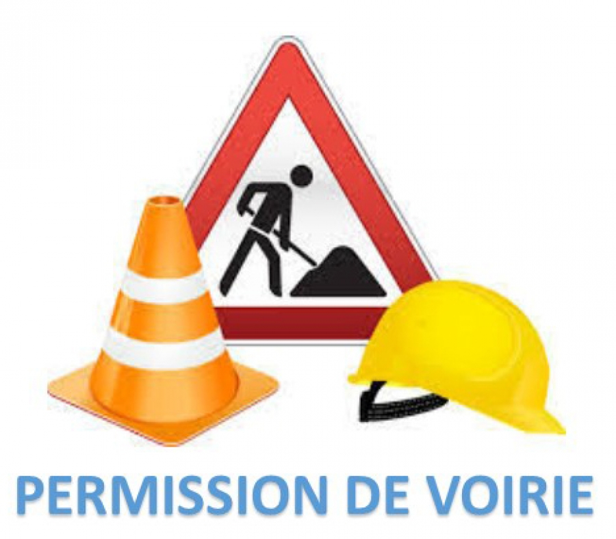Permission de voirie for Demande de travaux piscine